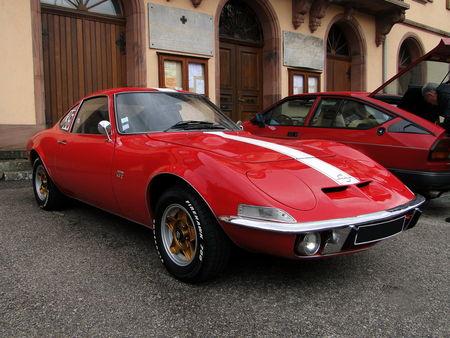 OPEL GT 1900 1968 1973 Criterium de la Vallee de la Bruche Amedee Gordini 2010 1