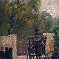 Dubois-Pillet, l'enterrement du garde national