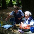 Las cocineras: Hnas Edith y Blandine