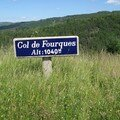 26 / le col de Fourques et la croix de la Barraque