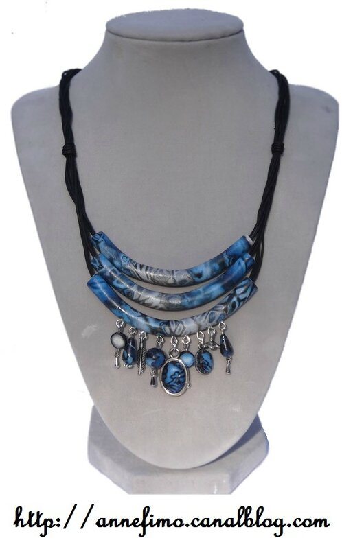 Collier 3 tubes