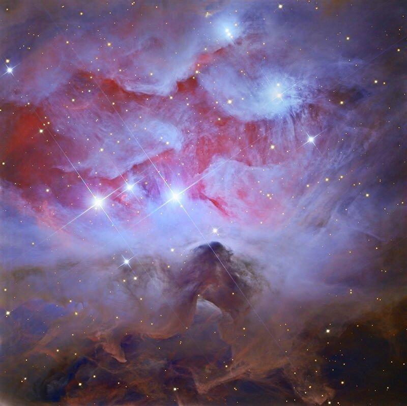 NGC 1977 nebuleuse de l homme qui court
