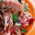 Risotto aux langoustines et épices tandoori