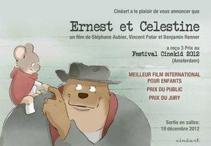 Ernest et Célestine - Décembre 2012
