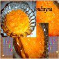 Compote de coings à l'orange