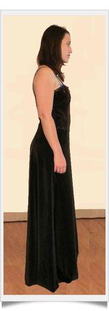 Audrey robe profil essayage-framed