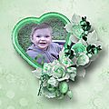 Minted Roses - Kit by Ilonkas Scrapbook Designs