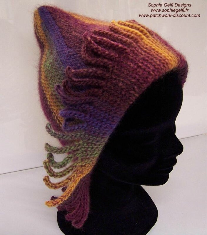 Sunset fancy hat 1
