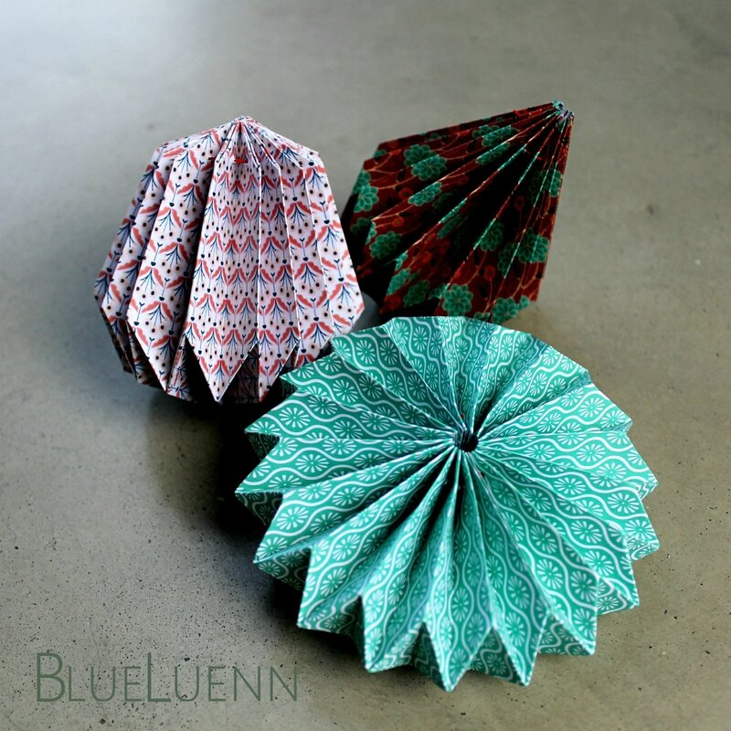 suspensions origami