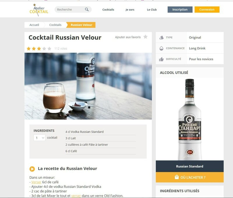 cocktail russian