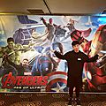 Avengers age of ultron : black widow a une vision