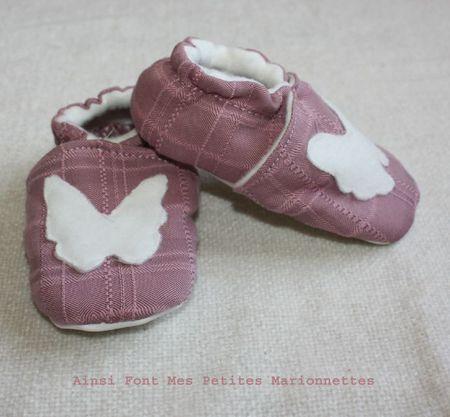 chaussons papillon 2