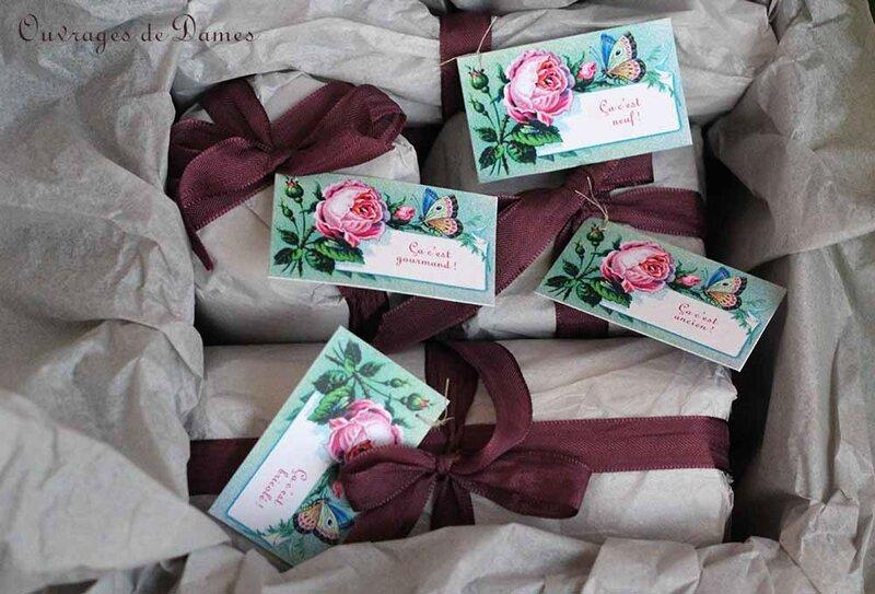Boite fleurie emballage