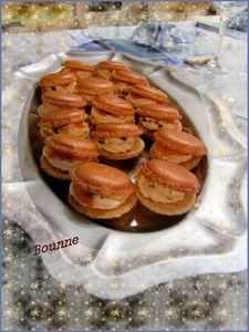 Macaron au saumon