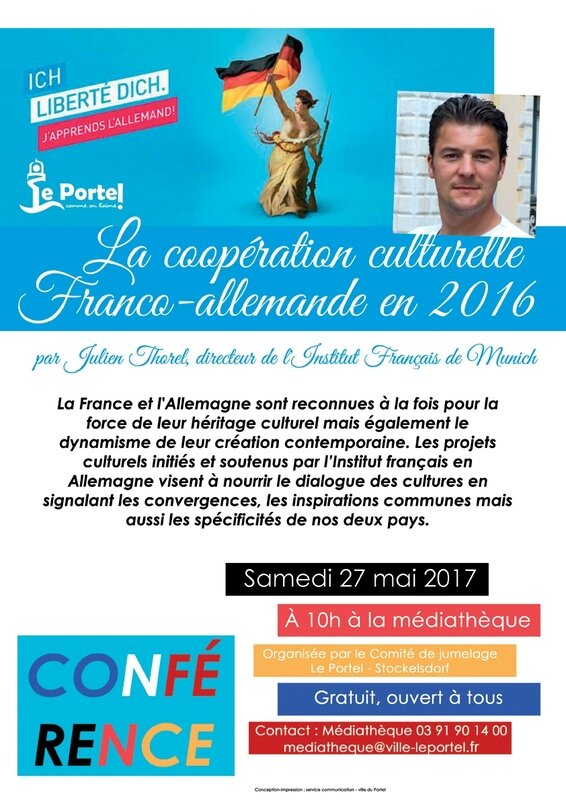 conf rence la coop ration culturelle franco allemande en 2016 m diath que les jardins du savoir. Black Bedroom Furniture Sets. Home Design Ideas