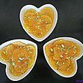 Salade d'oranges au miel et aux pistaches