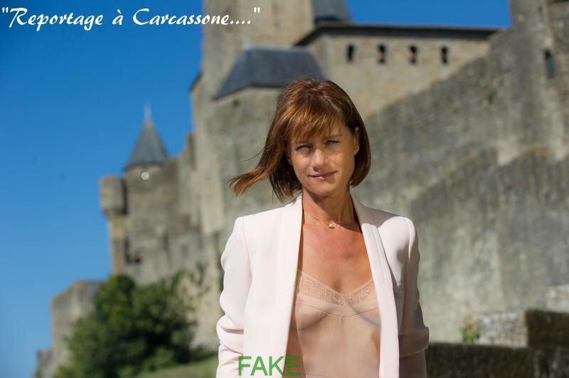 Carole Gaessler, sexy