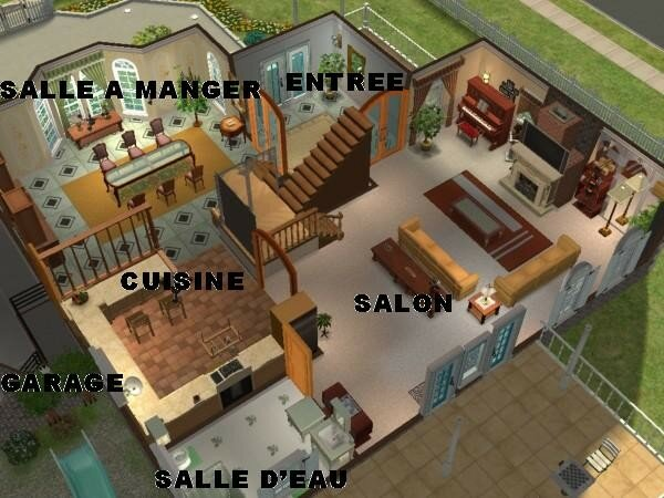 Plan de maison pour les sims joy studio design gallery for Plan pour villa