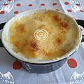 Gratin pommes de terre oeufs béchamel cyril lignac