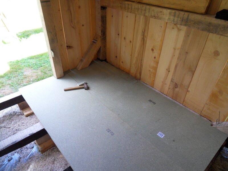 Pose dalles de plancher photo de l 39 abri de jardin bienvenue sur tang - Pose abri de jardin sur dalle ...