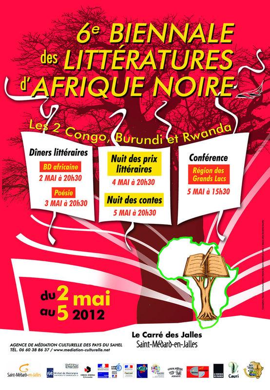 6 Biennale des Littératures d'Afrique Noire à Bordeaux