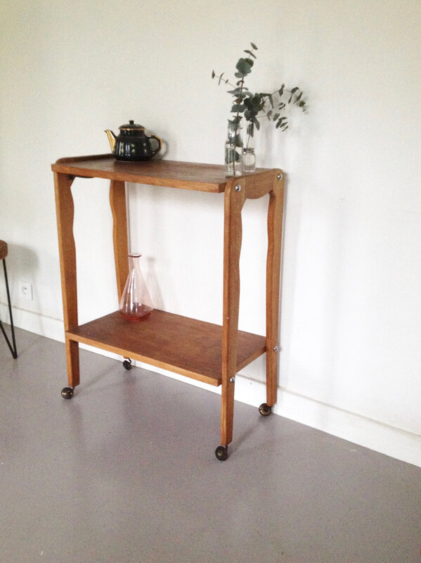 Table console vintge