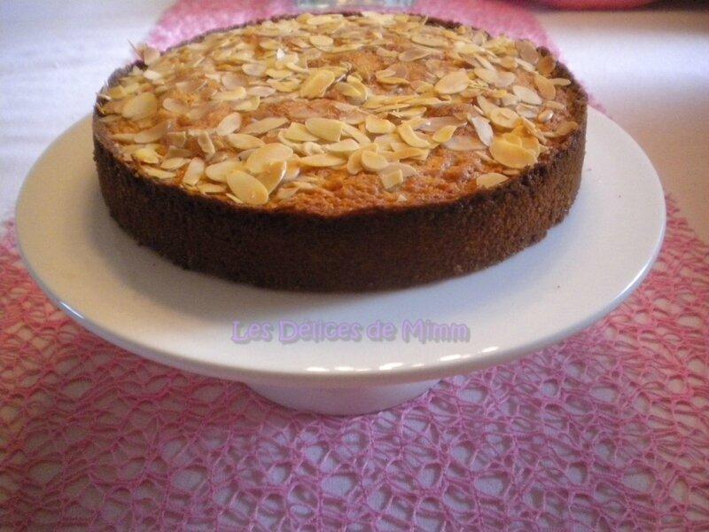 Gâteau fondant aux amandes 2