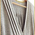 Robe burda jersey gris et capel moutarde2-1
