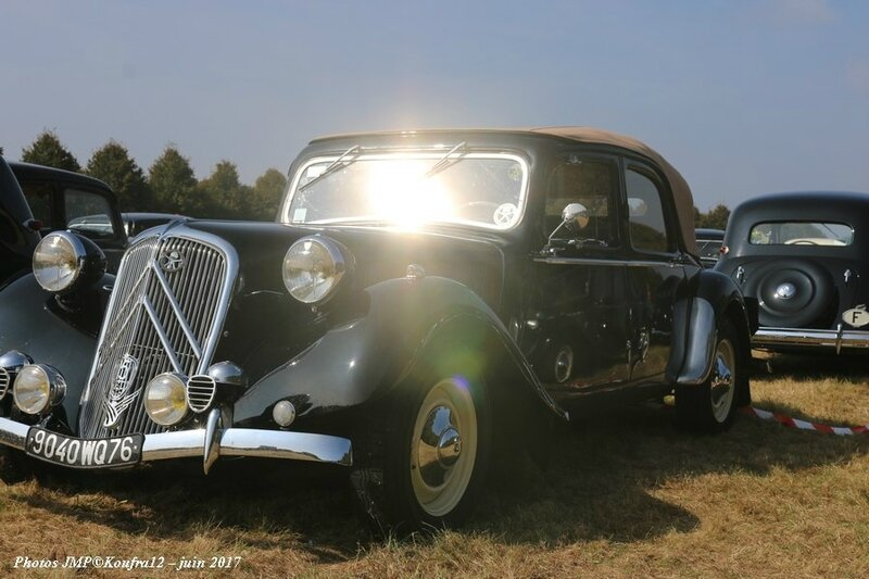 Photos JMP © Koufra12 - Traction avant 80 ans - 00182
