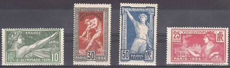 Timbre Paris 1924 bis