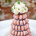 pièce-montée-mariage-macarons