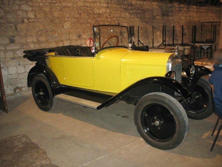 citro n c 1922 1926 autos crois es. Black Bedroom Furniture Sets. Home Design Ideas