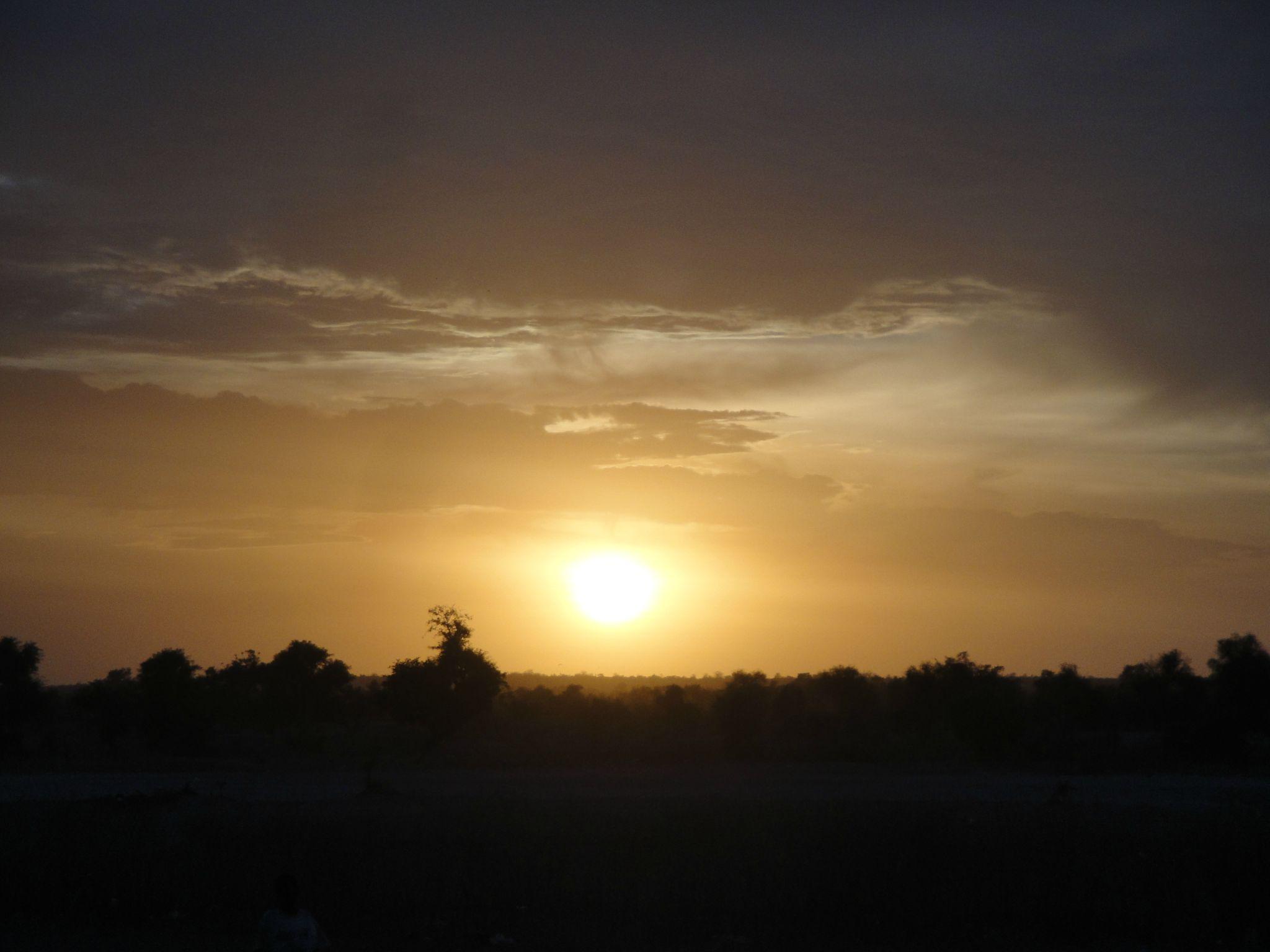 Coucher de Soleil sur le Fouta
