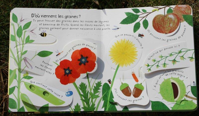 Comment poussent les fleurs livres
