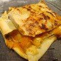 Lasagnes citrouille et lait de coco