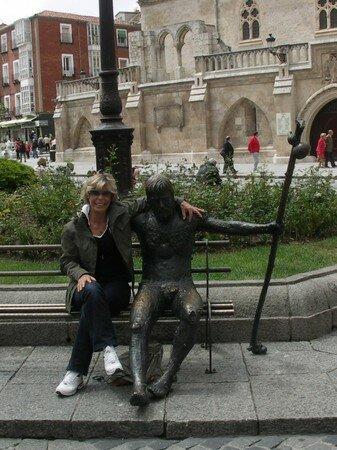 Yo_y_Santiaguito_de_Compostela_Burgos2007