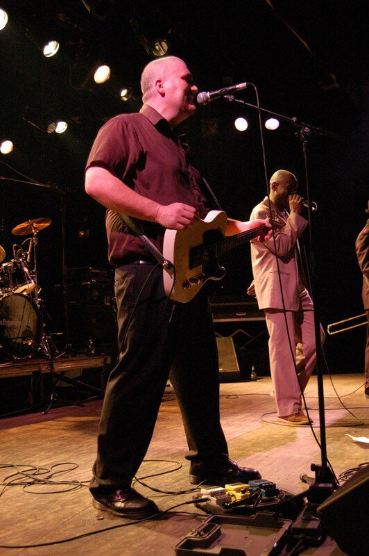 Neville Stapple and his band