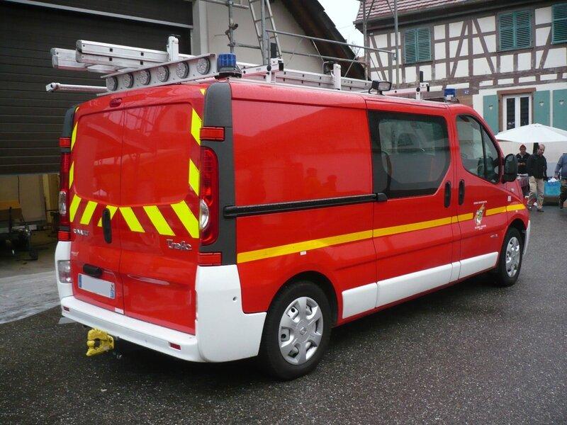 RENAULT Trafic dCi 115 véhicule de pompiers Mittelhausbergen (2)