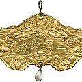 Khai Dinh ??: Gold Award Medal, Obv