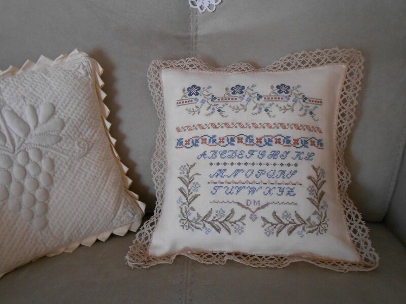 coussin Marquoir ancien 2