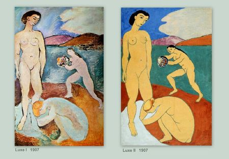 Matisse Le Luxe 1907