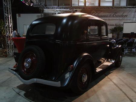 RENAULT Monaquatre Type YN3 1934 RegioMotoClassica 2011 2