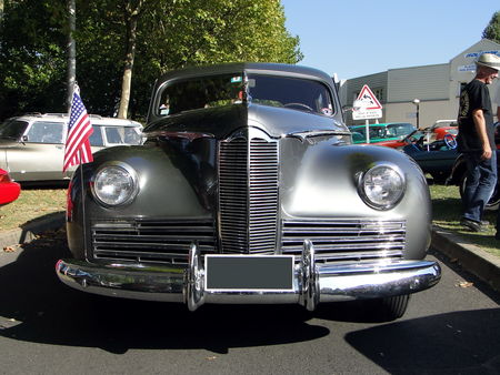 PACKARD Clipper Super Eight 4door Sedan 1941 A la Recherche des Autos Perdues Guermantes 2009 1