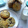 Cookies simplissimes au chocolat