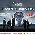 Concert : SIMPLE MINDS