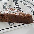 Gâteau au chocolat qui déchire!! (vegan)