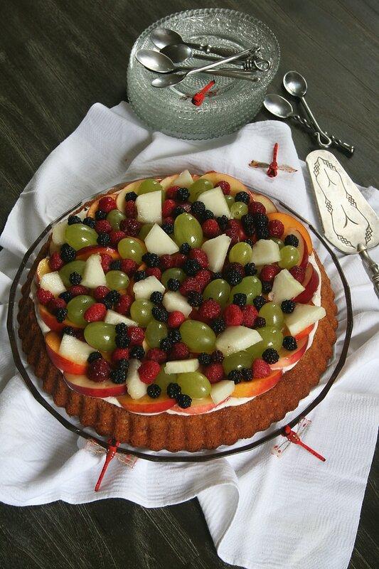 tarte renversée tutti fruti 1