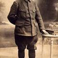 1916,le père de Jacqueline, en poilu