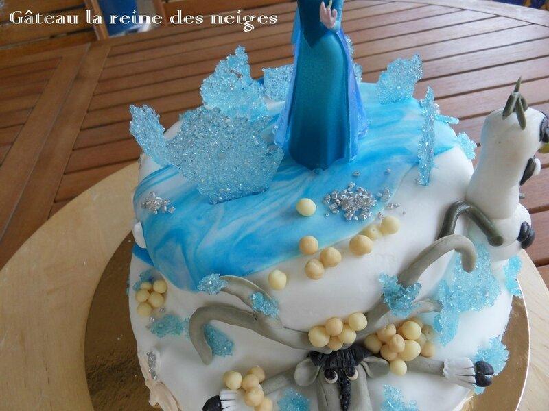 gâteau la reine des neiges4