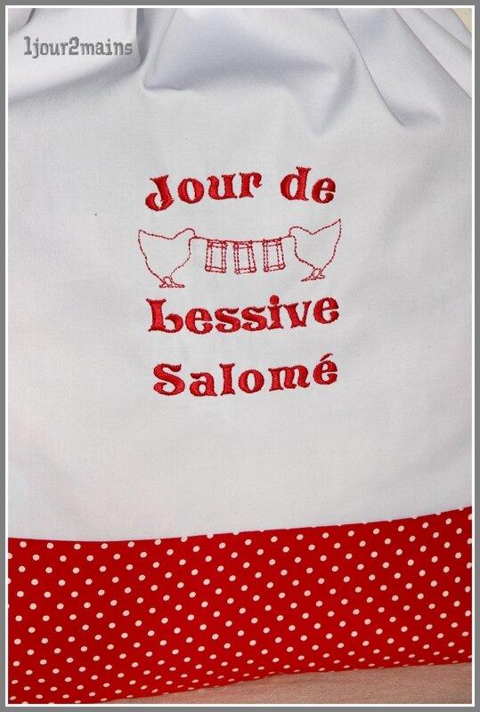 sac linge jour de lessive